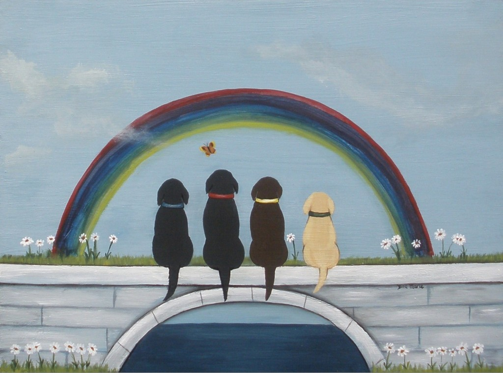 dog pet memorial painting