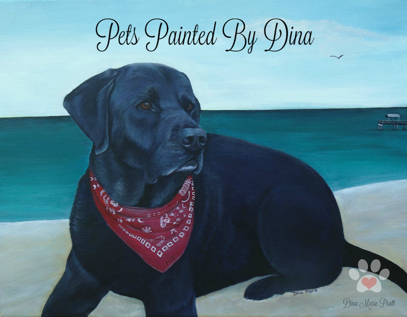 Pets Painted By Dina